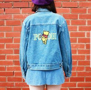 Vintage Winnie the Pooh denim jacket